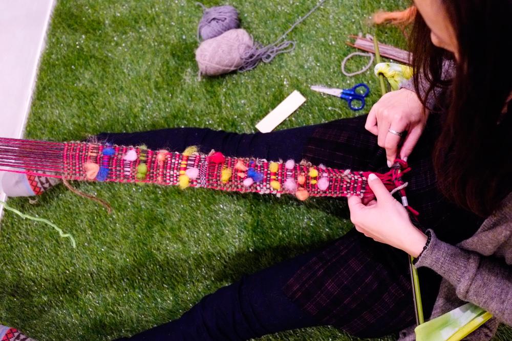 backstrap weaving belt