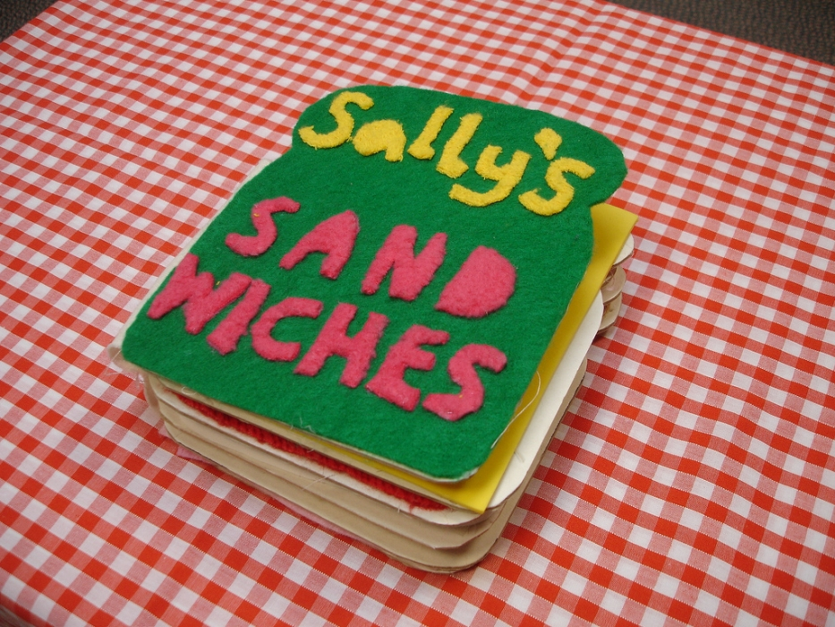 Sally's Sandwiches Tactile Book
