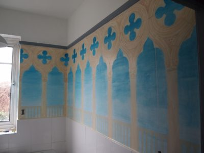 Doges Palace Bathroom Mural