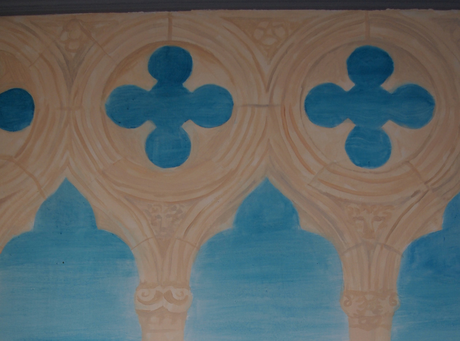 Doges palace mural detail