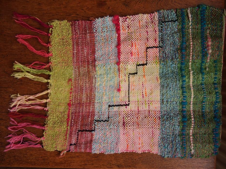 weaving step