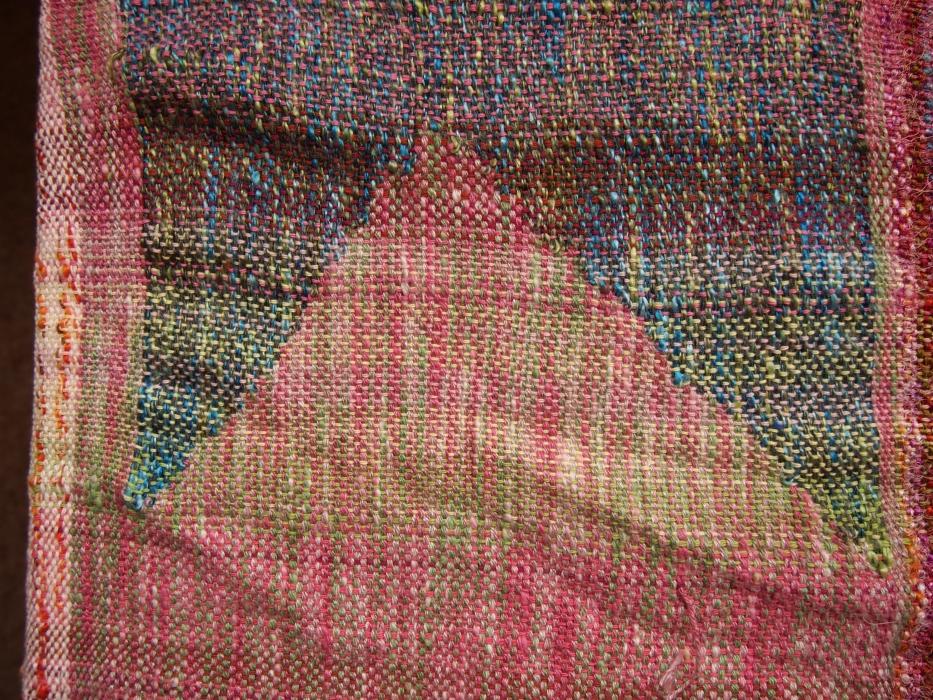 weaving mountain pink