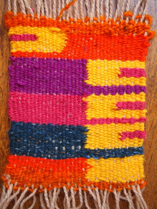 tapestry weaving chunk