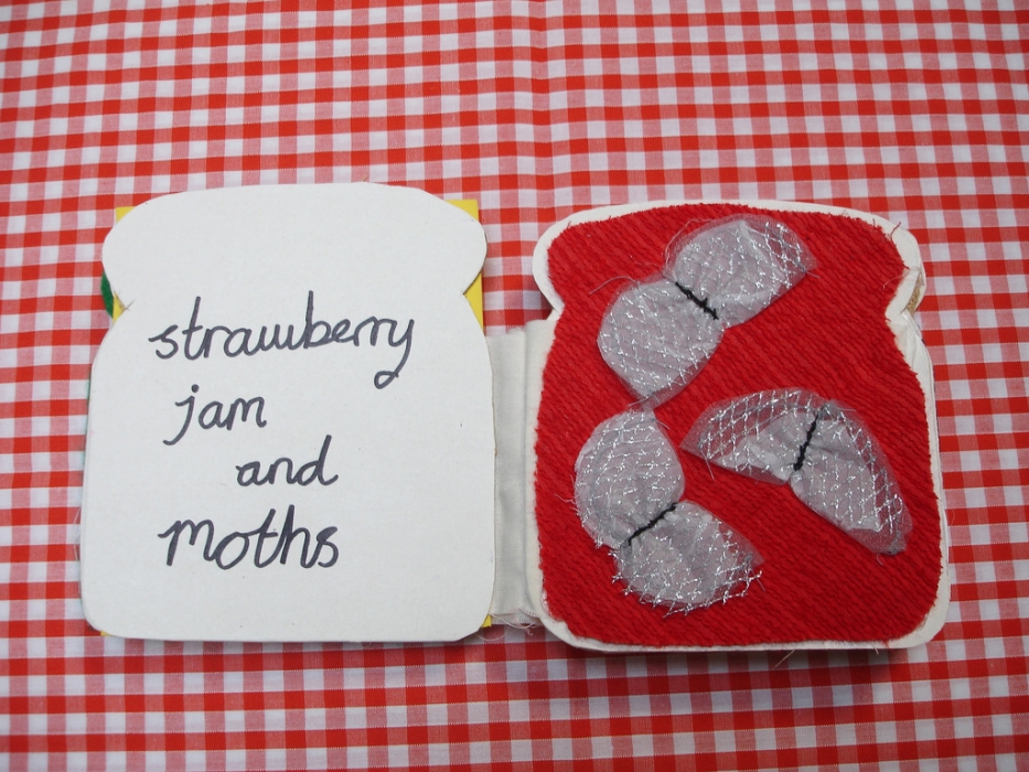 jam and moths tactile book
