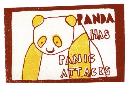 panda has panic attacks