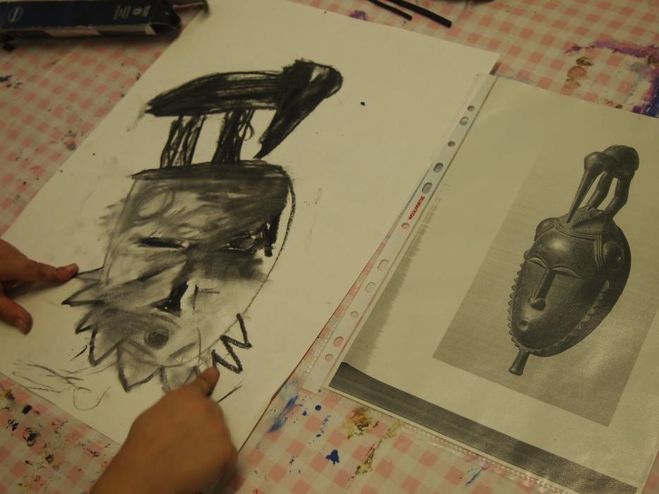 Drawing masks